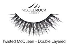 MODELROCK Lashes - Twisted McQueen - Double Layered Lashes, $11.95 (http://www.modelrocklashes.com/products/twisted-mcqueen-double-layered-lashes.html/)