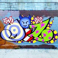 Fresh Graff #graff #graffiti #brooklyn #bushwickstreetart by bushwickstreetart
