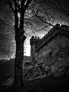 Castello Sasso Corbaro Bellinzona, Canton of Ticino, Switzerland
