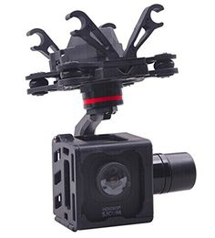 ZStandby HMG SJM10 3Axle Brushless Gimbal with AV Output for SJCAM M10 SJM10 WIFI Camera DIY FPV RC Quadcopter Drone ** Read more reviews of the product by visiting the link on the image.