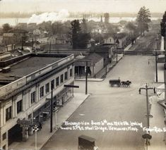 6th and Main Street Vancouver :: Clark County Historical Museum Photograph Collection 1914