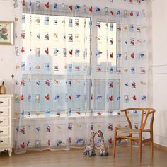 Teen Girl Bedrooms - TTnight Toddler Kids Car Pattern Voile Panel Sheer Door Room Drape Window Curtains * Click image for even more information. (This is an affiliate link). Balcony Curtains, Kids Room Curtains, Cool Curtains, Sheer Curtains, Curtains Living, Outdoor Curtains, Curtain Divider, Curtain For Door Window, Window Drapes