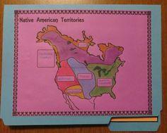 Native American Groups Navigation Map