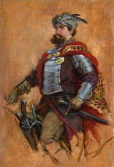 Anthony VanArsdale - Art and Illustration: Study of a 17th Century Polish Cavalryman