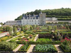 Chateau de Villandry, potager gardens - France's Top 10 Châteaux in Loire Valley | Frog + Princess Blog
