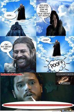 Funniest memes from Game of Thrones season 6 episode 2 : Home Game Of Thrones Jokes, Got Game Of Thrones, Valar Dohaeris, Valar Morghulis, Eddard Stark, Got Memes, Funniest Memes, Game Of Thones, Winter Is Here