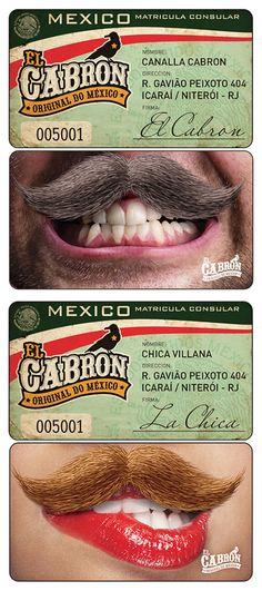 EL CABRON Mexican Bar - (Design by Muffa Comunicação) muffa.com.br