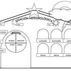FREE estacion meteorologica-weather station worksheet
