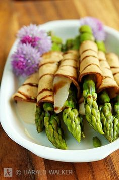 Asparagus finger food