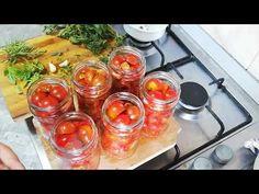 ROSII CHERRY IN SUC PROPRIU la borcan pentru iarna - YouTube