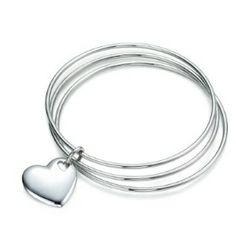 Heart in heart bangle - The Supermums Craft Fair