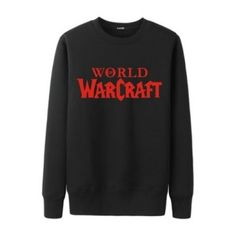 World of Warcraft sweatshirts for men back the Horde fleece pullover