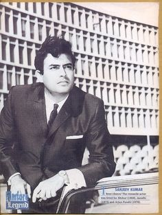 Sanjeev Kumar, very talented actor Bollywood Cinema, Bollywood Photos, Indian Bollywood, Bollywood Stars, Old Film Stars, Movie Stars, Old Actress, Best Actress, Sanjeev Kumar