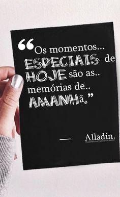 Sempre serão lindas lembranças.