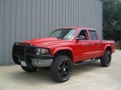 lifted dodge dakota truck | ... black wheels? - Page 3 - Dodge Durango Forum and Dodge Dakota Forums