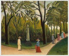 「ルクセンブルク公園のショパン記念碑」  1909年 原画サイズ(47×38cm)   所蔵:エルミタージュ美術館