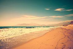 Sea and sand....