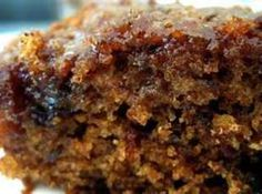 Gram's Prune Cake Recipe. I remember this growing up. After looking at the recipe, it looks like the same ingredients my grandma used. YUM!