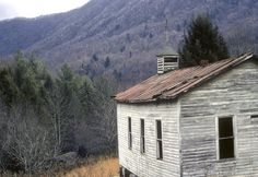 OLD CHURCH & SCHOOL; LOST COVE, NC | Abandoned in 1957 ...