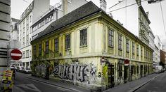 Zollergasse X Mondscheingasse. 06/2015 Wien, Austria,