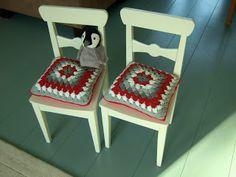 Het gehaakte sprookjesland: Kussentje haken voor Ikea stoeltje
