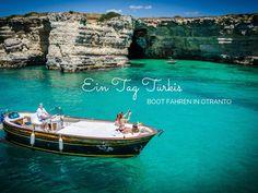 Apulien: Ein Tag Türkis – Boot fahren in Otranto #MyPugliaExperience w @carolinelohrman #WeAreinPuglia