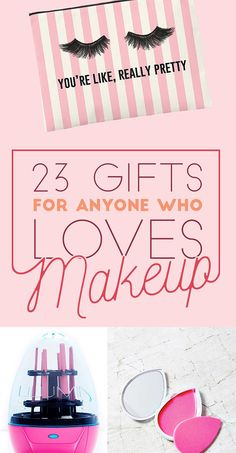 23 Gifts For Everyone Who Loves Makeup http://www.buzzfeed.com/maitlandquitmeyer/more-like-a-red-lipped-reindeer#.hunDVnXz9J