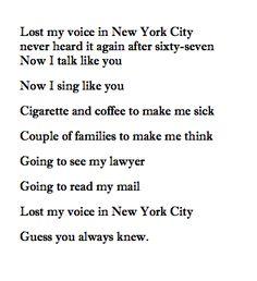 by Leonard Cohen