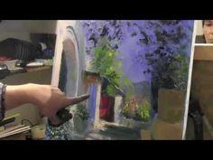 Уроки масляной живописи от художника Игоря Сахарова! - YouTube Fine Art Auctions, Canvas, Drawings, Artist, Paintings, Inspiration, Youtube, Learn Drawing, Landscapes