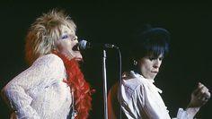 Hanoi Rocvks lavalla Japanissa 1983. Copyright: Lehtikuva.