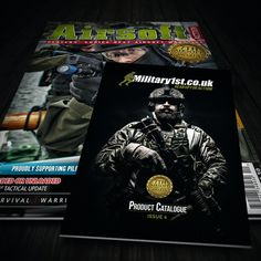 The latest Airsoft Action is out now, featuring free Military 1st Catalogue. Pick up your copy now! Visit our website to see the fully interactive online version of our catalogue.