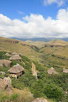 Giant's Castle Resort in the Drakensberg, KwaZulu-Natal