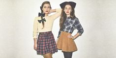 Gifts for... Santa's Elves! Plaid and Velvet by #AmericanApparel #SantasElves