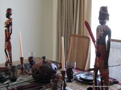 """I added """"African~Indian Fusion 