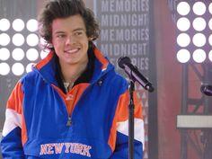 His New York sweatshirt though