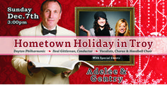 Hometown Holiday with Dayton Philharmonic at Hobart Arena in Troy, Ohio