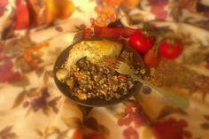 Курица с гречкой и овощами по‑деревенски