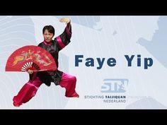 Tai Chi Kung Fu Fan - Xi Yang Mei - by Master Faye Yip from professor Li. Tai Chi, Qigong, Kung Fu, Professor, Youtube, Fan, Chinese, Healthy, Teacher