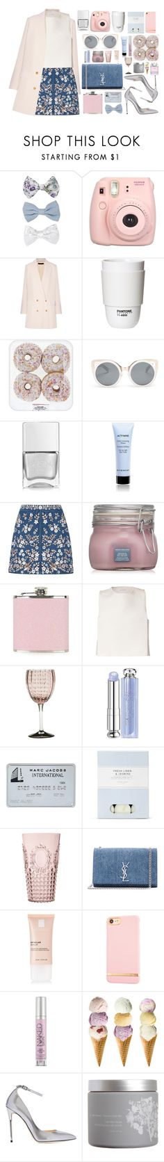 """""""Neutral"""" by tamaramanhardt ❤ liked on Polyvore featuring New Look, Fujifilm, The Row, ROOM COPENHAGEN, Erdem, Nails Inc., Givenchy, Needle & Thread, Topshop and J.W. Anderson"""