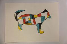 Mondrian-Inspired Silhouettes - By Sasha