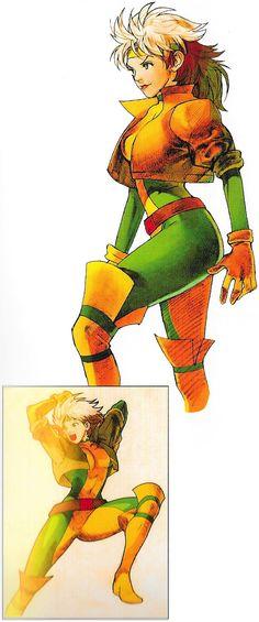 Rogue Marvel Comics Art, Marvel Vs, Game Character Design, Character Art, Marvel Characters, Female Characters, Hq Dc, Female Superhero, Marvel Girls