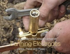 Number of #Earthing #Electrode and Earthing Resistance depends on the resistivity of soil and time for fault current to pass through (1 sec or 3 sec).