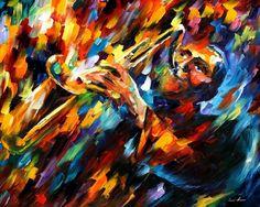 THE BLUES OF THE SOUL - PALETTE KNIFE Oil Painting On Canvas By Leonid Afremov - http://afremov.com/THE-BLUES-OF-THE-SOUL-PALETTE-KNIFE-Oil-Painting-On-Canvas-By-Leonid-Afremov-Size-24-x30.html?utm_source=s-pinterest&utm_medium=/afremov_usa&utm_campaign=ADD-YOUR