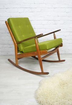 For the bedroom - MCM Rocking chair. Pinned by Secret Design Studio, Melbourne. ww.secretdesignstudio.com
