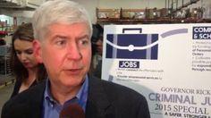 Environmentalists praise Gov. Rick Snyder's 30-year water plan