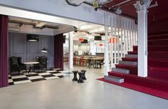 Define Your Office 13 Great Examples Of Space Defining Flooring