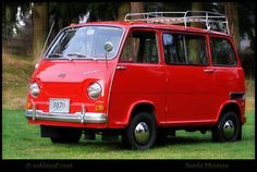1970 Subaru 360 Van This is the cutest little van ever. I mean it is TINY. Seriously tiny. Almost looks like a toy truck. But fear none! This is a great van that was quite popular in the 70s. It was really cheap and had that cool factor. It is both hip and groovy. Definitely what you wanted in the hippie era and even now. If I can find one for sale!! Micro cars mini vintage retro classic import