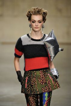 #Louise #Grey #FW13/14 - #London #Fashion #Week
