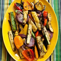 With a touch of sweet and salt, your summer grilled veggies are complete.