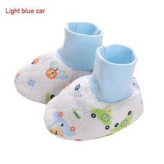 Hot Sale Cute Cartoon Infant Baby Kids Foot Gloves Newborn Foot Socks Free Shipping